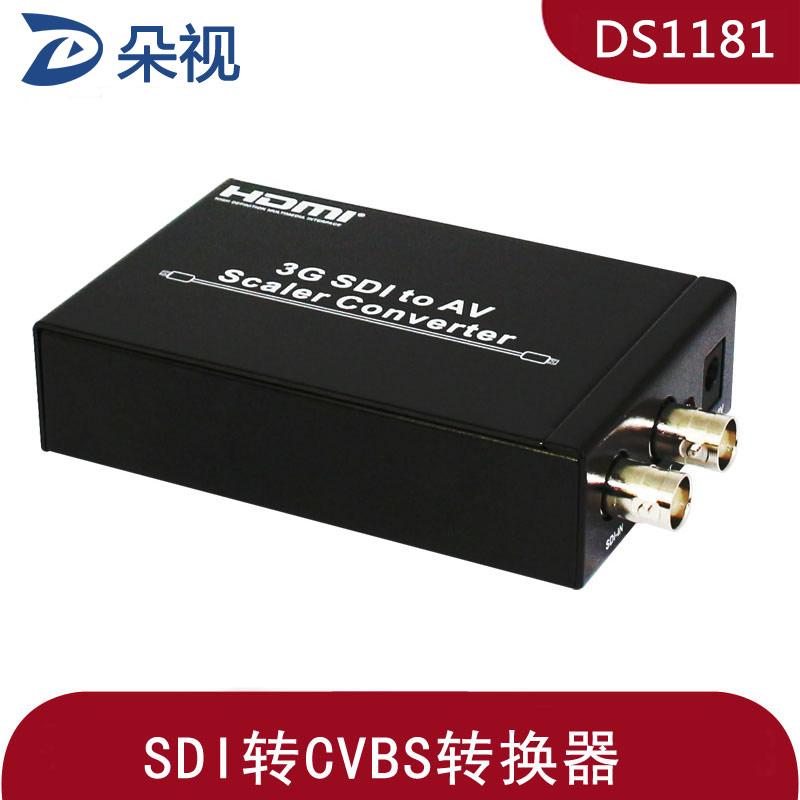 朵视DS1181 3G-SDI转CVBS转换器